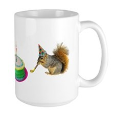 Squirrels Birthday Mugs