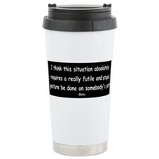 Funny Animalhousemovie Travel Mug