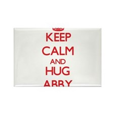 Keep Calm and Hug Abby Magnets