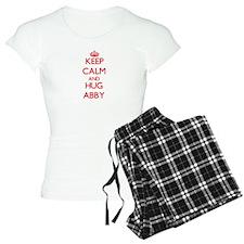 Keep Calm and Hug Abby Pajamas