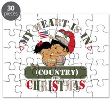 Christmas Soldier Dad/Mom Puzzle
