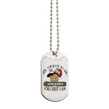 Christmas Soldier Dad/Mom Dog Tags