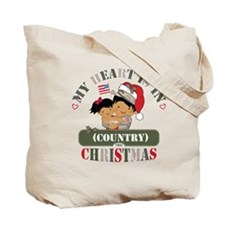 Christmas Soldier Dad/Mom Tote Bag