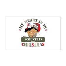 Christmas Soldier Dad/Mom Car Magnet 20 x 12