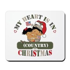 Christmas Soldier Dad/Mom Mousepad
