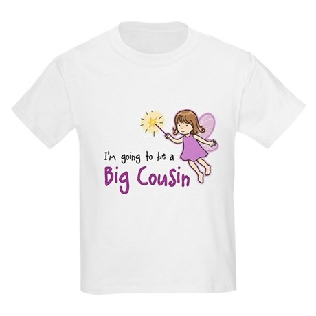Big Cousin to be - Fairy Kids Light T-Shirt