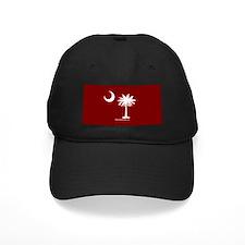 SC Palmetto Moon State Flag Garnet Baseball Cap