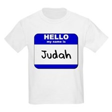hello my name is judah T-Shirt