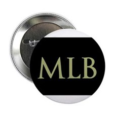"""Monogram in Large Letters 2.25"""" Button (10 pack)"""