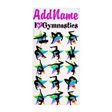 AWESOME GYMNAST Beach Towel