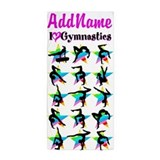 Personalized girls Beach Towels