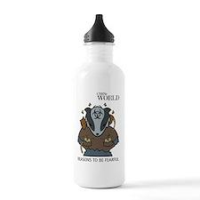 Bio Badger (colour) Water Bottle