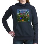 Cuddles by the fence Hooded Sweatshirt