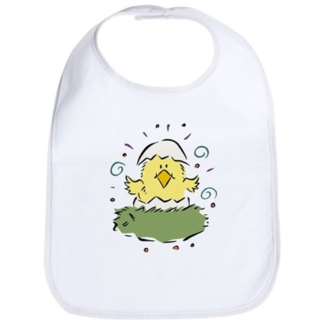 Just Hatched Easter Chick Bib
