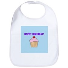HAPPY BIRTHDAY CAKE Bib