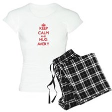 Keep Calm and Hug Avery Pajamas