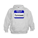 hello my name is jovanni Hoodie