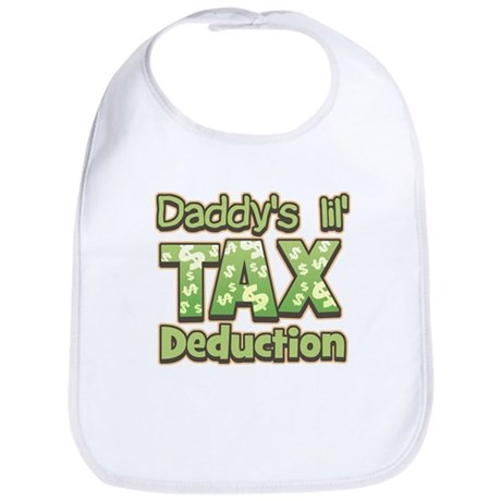 Lil' Tax Deduction Bib