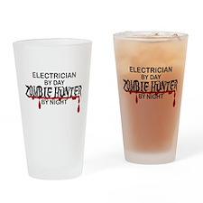 Zombie Hunter - Electrician Drinking Glass