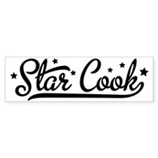 star cook Bumper Sticker