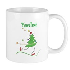 Customize Christmas Tree Runner Mugs