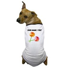 Custom Lollipops Dog T-Shirt