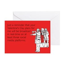 Broadcast In Real-Time Greeting Card