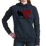 FRIENDS DONT RIDE2.png Hooded Sweatshirt