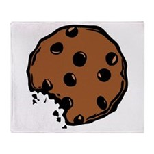 Chocolate Chip Cookie Throw Blanket