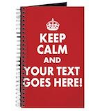 Keep calm Journals & Spiral Notebooks