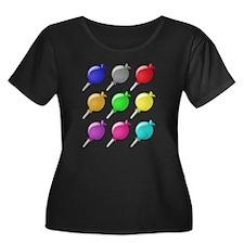 Lollipops Plus Size T-Shirt