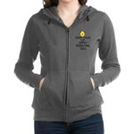 Keep Calm and Apply Essential O Women's Zip Hoodie