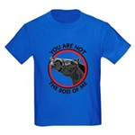 Horse Not the Boss Of Me Kids Dark T-Shirt