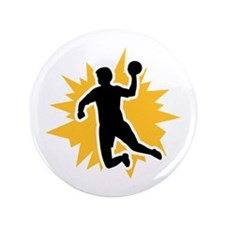 "Dodgeball player 3.5"" Button (100 pack)"