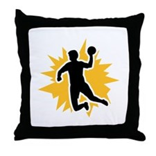 Dodgeball player Throw Pillow