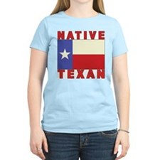 Native Texan Women's Pink T-Shirt