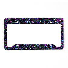 Glitter 1 License Plate Holder