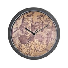 Bee Keeper Wall Clock