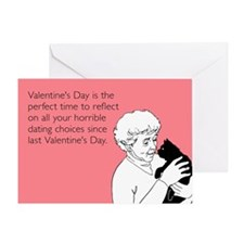 Horrible Dating Choices Greeting Card