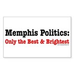 The Best & Brightest Rectangle Sticker