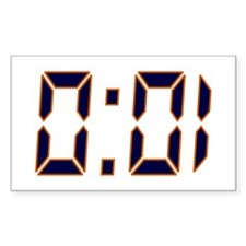 Auburn 1 Second Decal