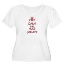 Keep Calm and Hug Jaelyn Plus Size T-Shirt