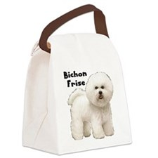 Bichon Frise.JPG Canvas Lunch Bag
