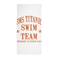 TITANIC SWIM TEAM.png Beach Towel