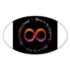 Infinity Is Change Decal