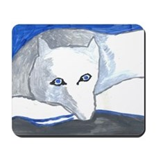 Winter Fox Mousepad