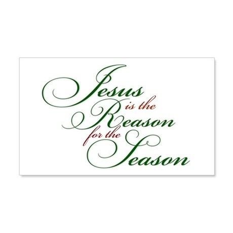 Jesus is the Reason Wall Decal