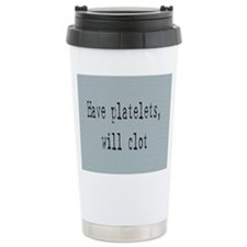 Cute Breast cancer survivors Travel Mug