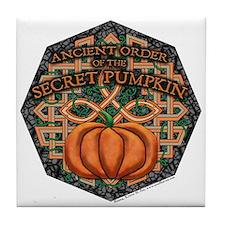 Secret Pumpkin Decorative Tile