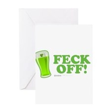 Feck Off! Greeting Card